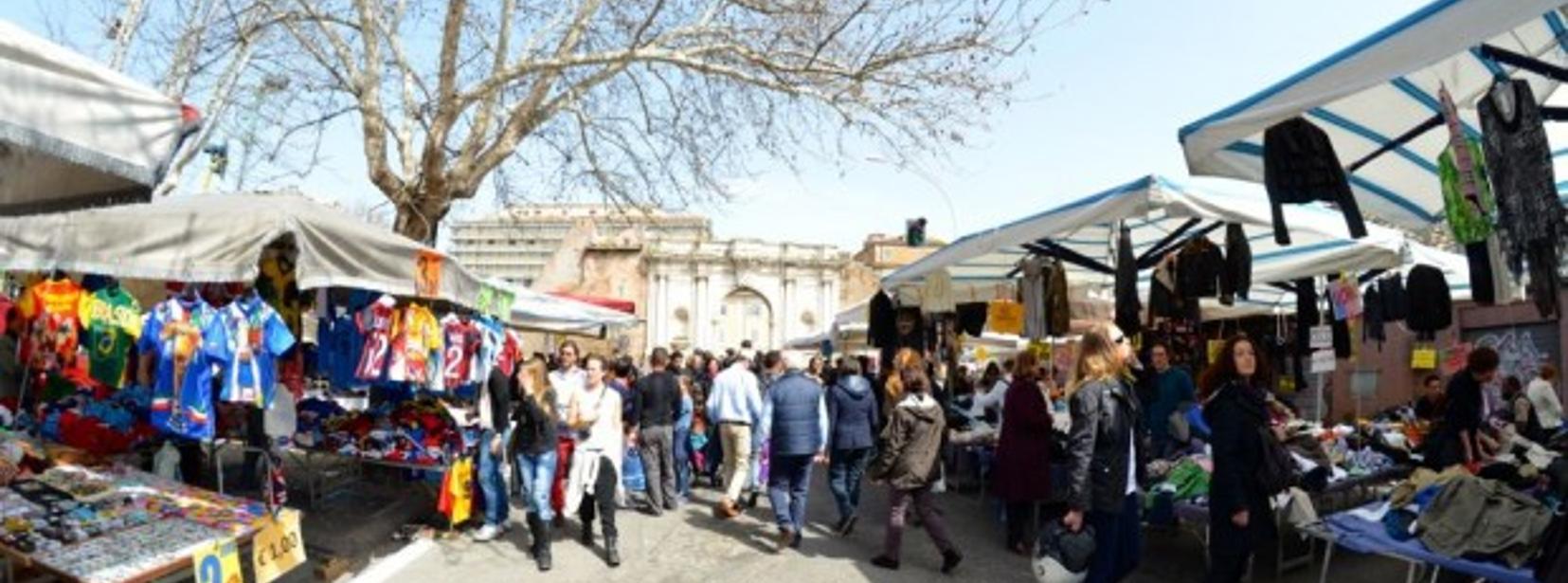 Mercato di porta portese rome mycityhighlight - Porta portese affitti appartamenti roma ...