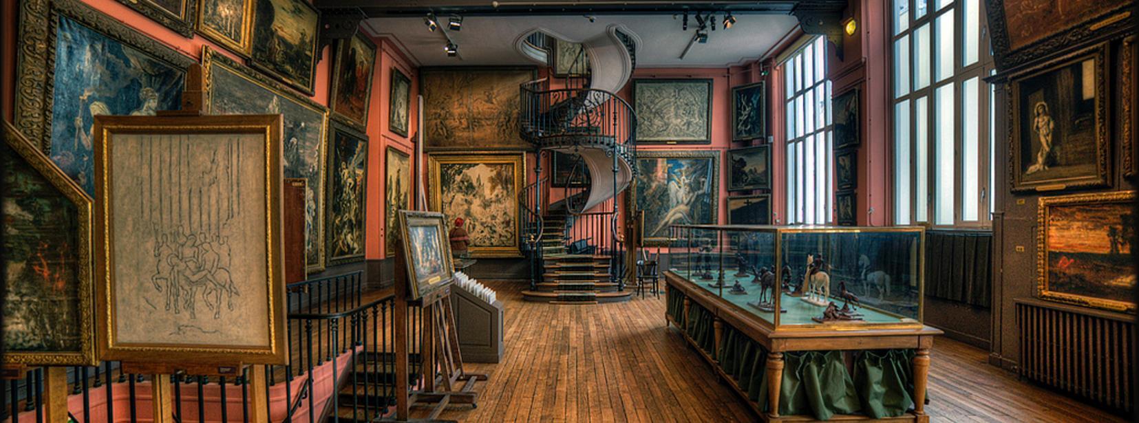 小眾巴黎博物館 - 古斯塔夫美術館