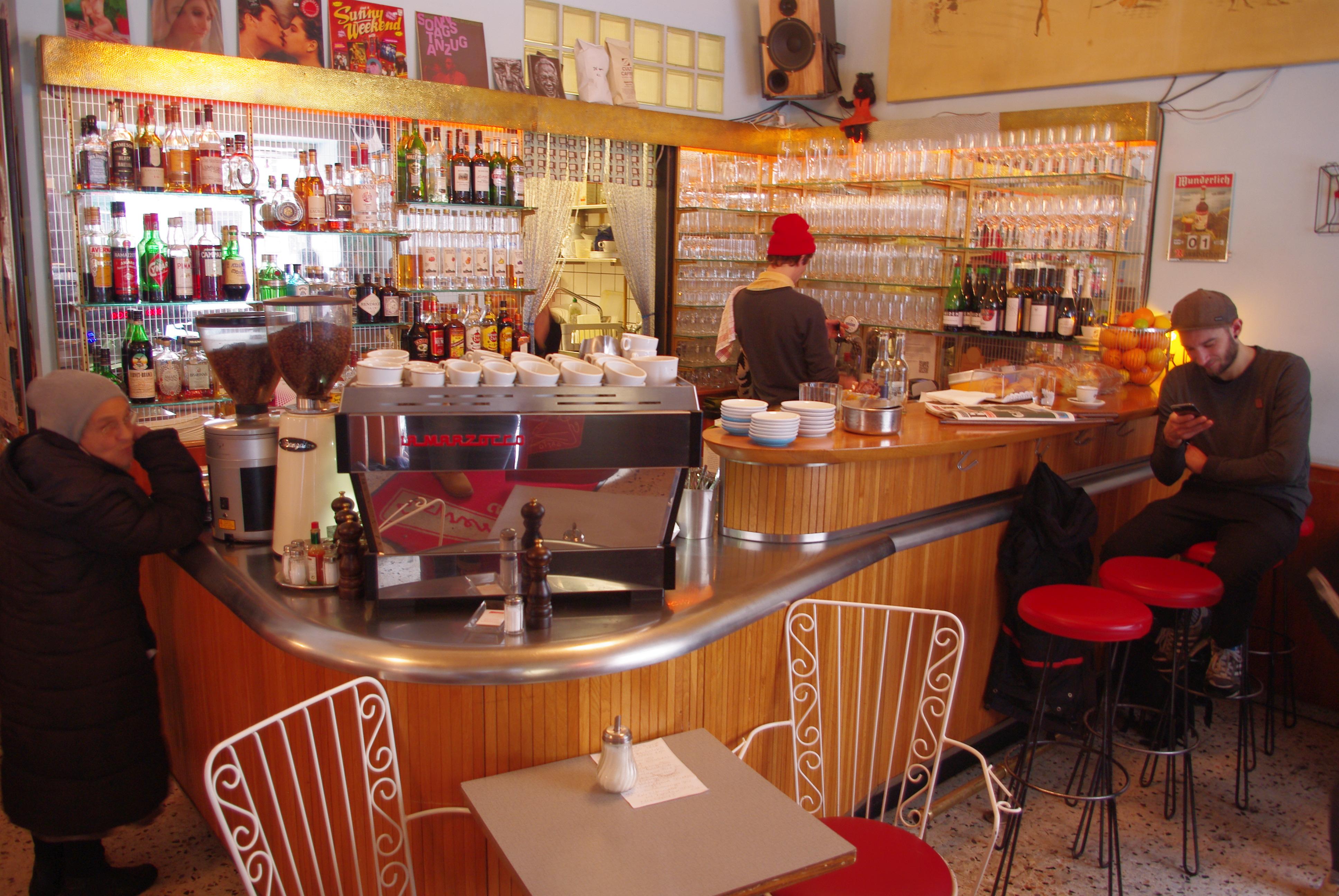 espresso caf bar vienna mycityhighlight. Black Bedroom Furniture Sets. Home Design Ideas