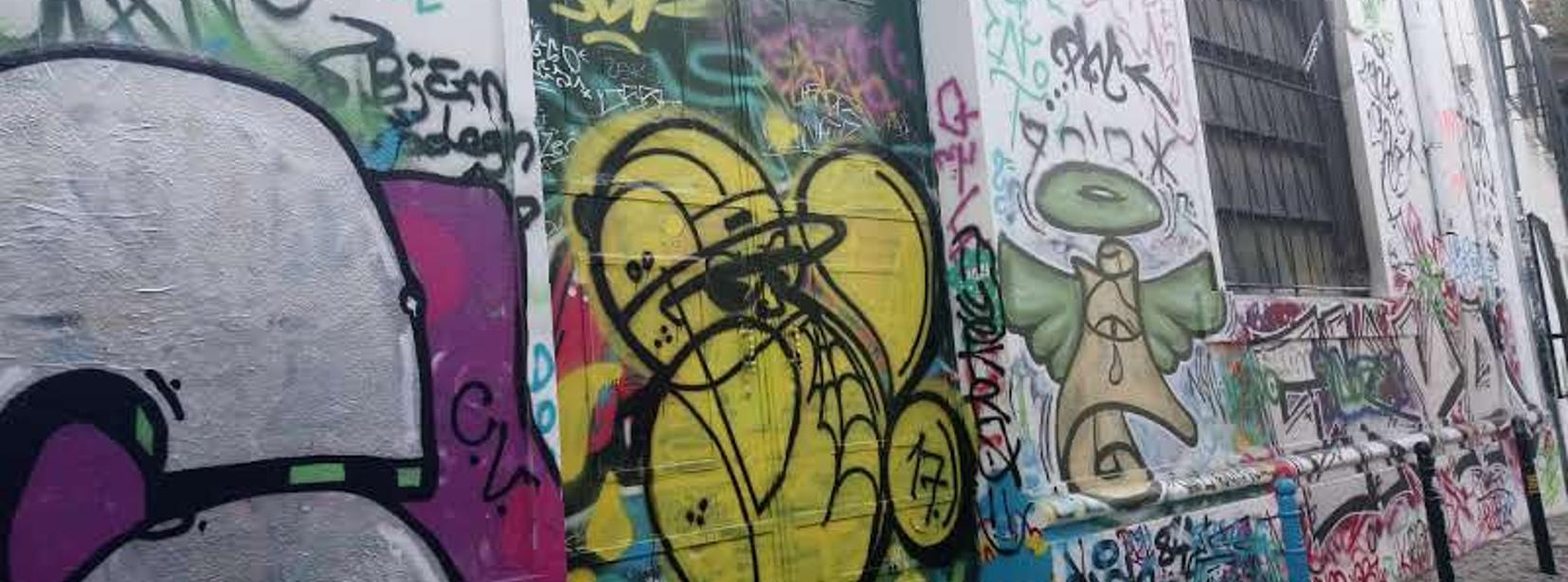 Travessa do fala só graffiti free wall