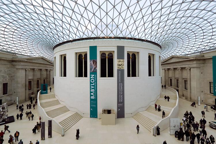 Foyer Museum London : British museum london mycityhighlight