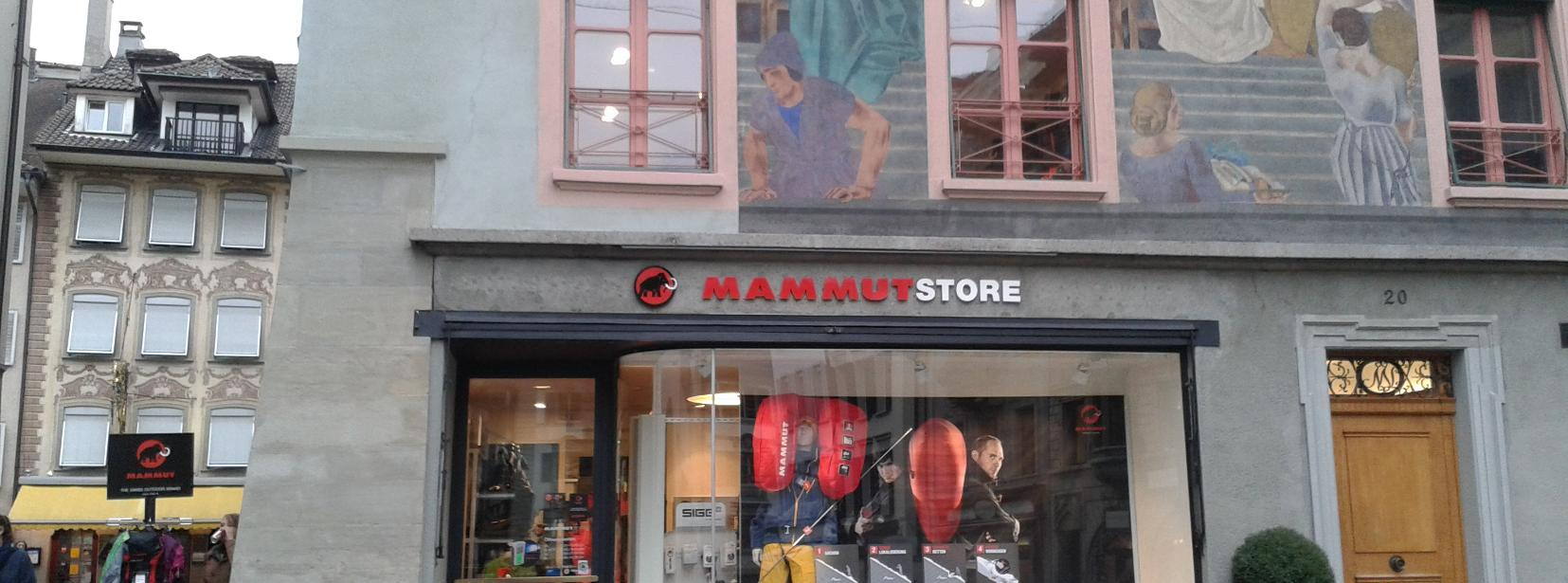 mammut store luzern lucerne mycityhighlight. Black Bedroom Furniture Sets. Home Design Ideas