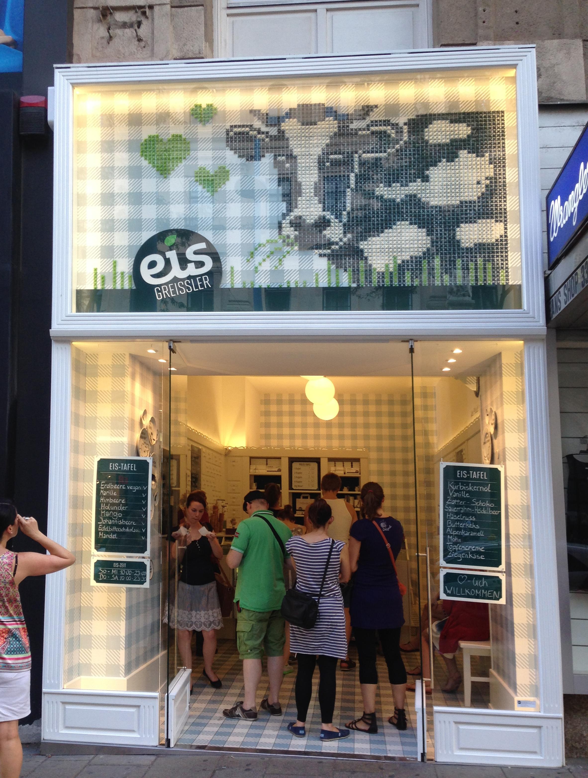 Eis Greissler Ice Cream Parlour Vienna Mycityhighlight