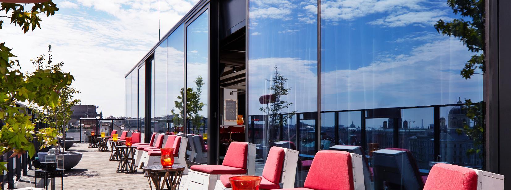 Astounding Dachboden Referenz Von At 25hours Hotel Vienna