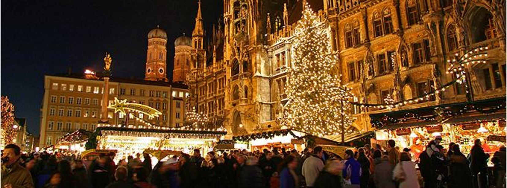 Marienplatz Weihnachtsmarkt.Christkindlmarkt Am Marienplatz München Mycityhighlight